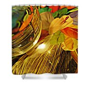 Crystal Ball Project 20 Shower Curtain