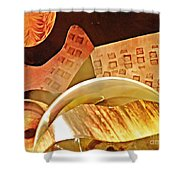 Crystal Ball Project 58 Shower Curtain