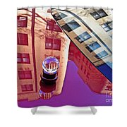 Crystal Ball Project 60 Shower Curtain