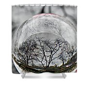 Crystal Ball Project 86 Shower Curtain