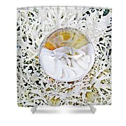 Crystal Ball Project 87 Shower Curtain
