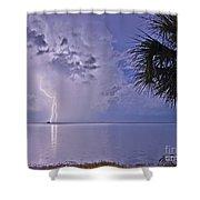 Crystal Beach 4 Shower Curtain