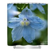 Crystal Blue Shower Curtain