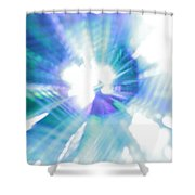 Crystal Blue Persuasion Shower Curtain