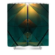 Crystal Cathedral Shower Curtain