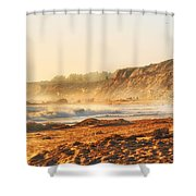 Crystal Cove At Sunset 1 Shower Curtain