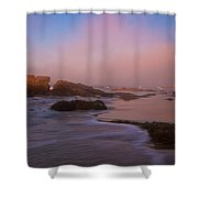 Crystal Cove State Park Shower Curtain