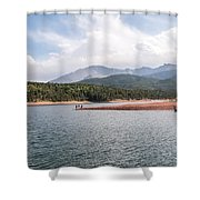 Crystal Lake  Shower Curtain