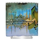 Crystal Mosque Shower Curtain