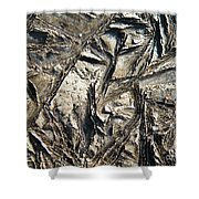 Crystal Muck Shower Curtain