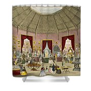 Crystal Palace, Zollverein Department Shower Curtain