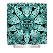 Crystal Perspective Shower Curtain