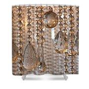 Crystal Rain 1 Shower Curtain
