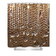 Crystal Rain 2 Shower Curtain