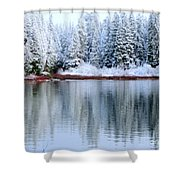 Crystal Silent Shower Curtain