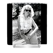 Crystalbwjeans Shower Curtain