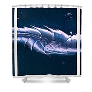 Crystalline Entity Triptych  Shower Curtain