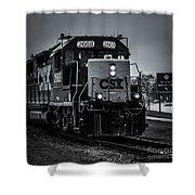 Csx 2668 Shower Curtain