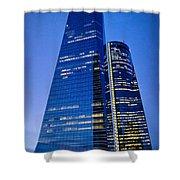 Cuatro Torres Business Area Shower Curtain