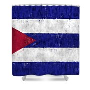 Cuba Flag Shower Curtain