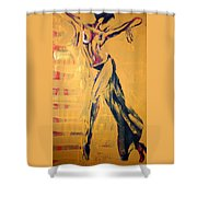 Cuba Rhythm Shower Curtain