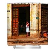 Cuba3 Shower Curtain