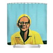 Cuban Portrait #13, 1996 Shower Curtain