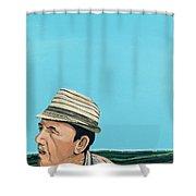 Cuban Portrait #8, 1996 Shower Curtain