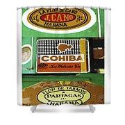 Cubanos Shower Curtain