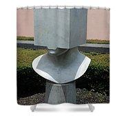 Cube Head Shower Curtain