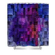 Cubed 2 Shower Curtain by Jack Zulli