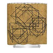 Cubed II Shower Curtain