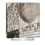 Cubes And Balls Shower Curtain