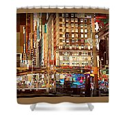 Grand Central And 42nd St Shower Curtain