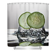 Cucumber Freshsplash Shower Curtain