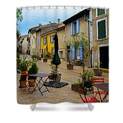 Cucuron In Provence Shower Curtain