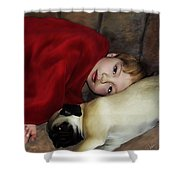 Cuddle Time Shower Curtain
