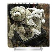 Cuddle Toys Shower Curtain