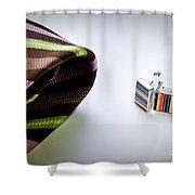 Cuff Links Shower Curtain