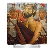 Cuiseufiction Of Christ  Shower Curtain