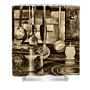 Cuisine At Chenonceau Shower Curtain