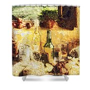 Cuisine Shower Curtain by Mo T