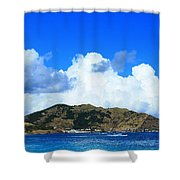 Cul-de-sac Shower Curtain