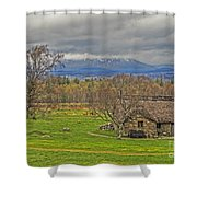 Culloden Moor And Old Leanarch Shower Curtain
