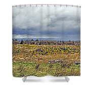Culloden Moor Shower Curtain