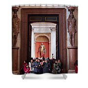 Cultural Exchange Shower Curtain