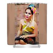 Culture Girl Shower Curtain