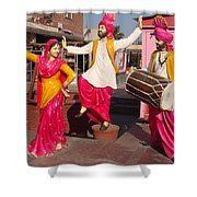Culture Of Punjab Shower Curtain