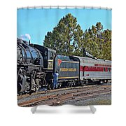 Cumberland Maryland Train Station Shower Curtain