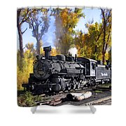 Cumbres And Toltec Railroad Shower Curtain